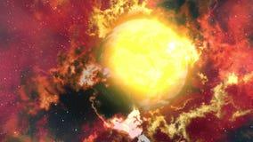 气体行星 向量例证