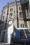 气体计量器城市,维也纳 免版税库存图片