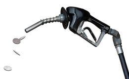 气体货币喷管抽 免版税库存照片
