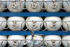 气体银行 库存图片