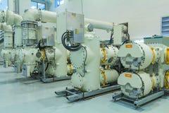 气体绝缘的互换机 库存照片