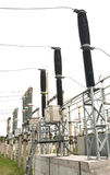 气体绝缘的开关110 kW高压分站 免版税库存照片