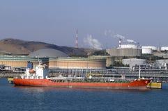 气体grude行业油槽 免版税库存图片