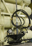 气体lpg坦克通信工具 免版税库存图片