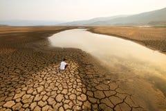 气候变化和全球性变暖环境概念 库存图片