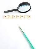 气候字 免版税库存图片