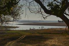 气候改变-缺水 免版税库存照片