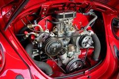 气凉引擎vw 库存图片
