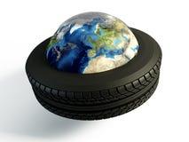 气动力学的世界 库存照片
