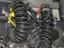 气动力学的制动系统 免版税库存图片