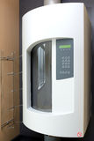 气动导管系统在医院 免版税库存照片