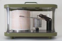 气压自动记录仪高压 库存照片