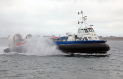 气垫船海运 免版税图库摄影