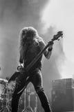 气氛努瓦尔生活音乐会Hellfest 2016年 免版税库存照片