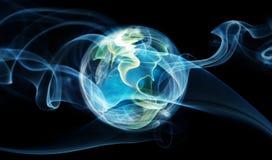 气氛地球 免版税库存照片