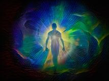 气氛或灵魂 向量例证