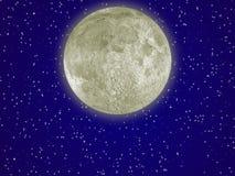 气氛月亮 免版税库存照片