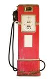 气泵葡萄酒白色 免版税图库摄影