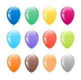 气球上色了多 免版税库存照片