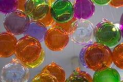 气球上色了 免版税库存图片