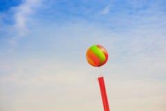 气球丝带 免版税库存图片