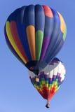 气球五颜六色热 图库摄影