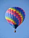 气球五颜六色热 免版税图库摄影