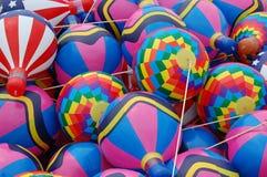 气球五颜六色的玩具 免版税库存照片
