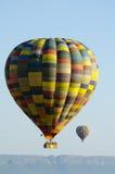 气球和云彩 库存照片