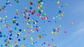 气球和平 库存照片