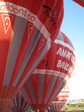气球在Cappadocia土耳其 免版税库存照片