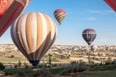 气球在Cappadocia 库存照片
