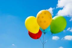 气球天空 免版税库存图片