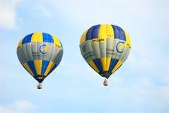 气球孪生 免版税库存图片