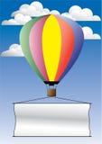 气球宣传 免版税库存图片