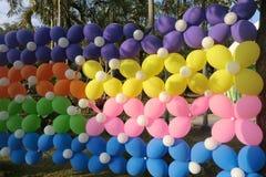 气球屏幕 免版税图库摄影