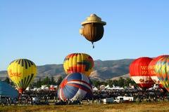 气球巨大种族里诺 图库摄影