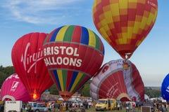 气球布里斯托尔节日国际 图库摄影