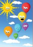 气球当事人 免版税图库摄影