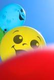 气球微笑 免版税库存图片