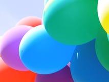 气球拼贴画我 库存图片