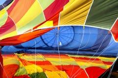 气球放气了热 免版税库存照片