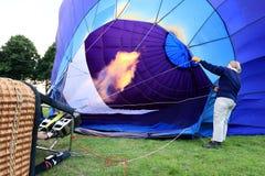 气球旅行 免版税库存图片
