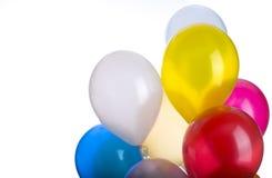 气球束复制空间 库存图片