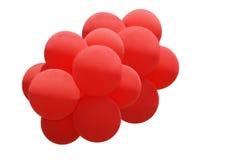 气球束 免版税库存图片