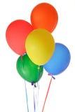 气球束 库存照片
