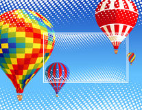 气球框架 库存图片