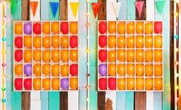 气球比赛 免版税库存图片