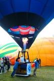 气球浮动准备好 图库摄影