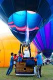 气球浮动准备好 库存图片